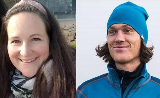ItumX-ansatte Kathrine og Sondre smiler.