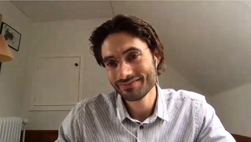 Rune fra ItumX smiler til kamera under et Teamsmøte.